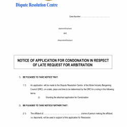 Notice-of-an-Application-for-a-Condonation-in-Respect-of-a-Late-Request-for-Arbitration-DRC-1